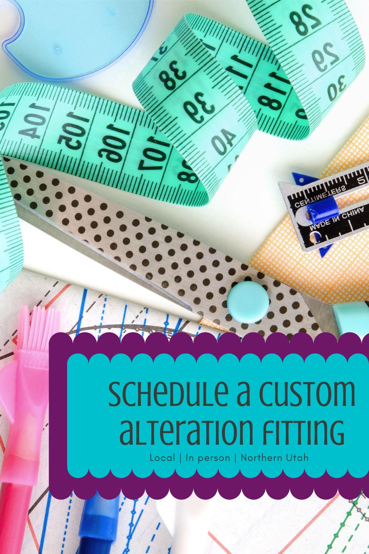 Schedule a custom fitting